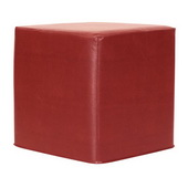 Designer Avanti Apple No Tip Block Ottoman - MHE4445