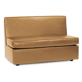 Howard Elliott Avanti Bronze Slipper Loveseat - MHE4622