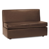 Howard Elliott Avanti Pecan Slipper Loveseat - MHE4623