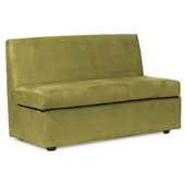 Howard Elliott Bella Moss Slipper Loveseat - MHE4627