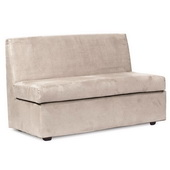 Howard Elliott Bella Sand Slipper Loveseat - MHE4629