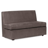 Howard Elliott Bella Pewter Slipper Loveseat - MHE4630
