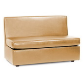 Howard Elliott Luxe Gold Slipper Loveseat - MHE4632