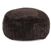 Designer Foot Pouf Mink Brown  - MHE4433