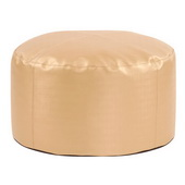 Designer Foot Pouf Luxe Gold  - MHE4437