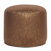 Designer Tall Pouf Glam Chocolate - MHE4521