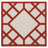 Designer Anakin Red Lattice Mirror - MHE4203