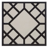 Designer Anakin Black Lattice Mirror - MHE4204