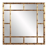 Howard Elliott Bamboo Gold Mirror - MHE5725