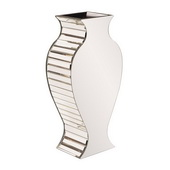 Designer Rounded Mirrored Vase - Small - MHE4897