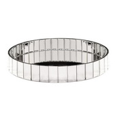 Designer Circular Mirrored Tray - MHE5057
