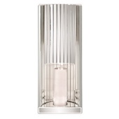 Designer Faceted Mirror Wall Sconce - MHE5015