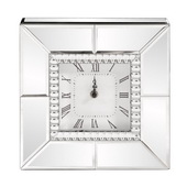 Designer Mirrored Table Clock - MHE4723