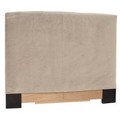 Designer Bella Sand King Slipcovered Headboard - MHE4423