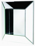 Designer Mirror Contemporary Box Frame Glass Mirror - MHE2130