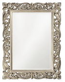 Designer Mirror Antique French Pewter - MHE2534