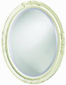 Designer Mirror Antique White - MHE2834