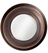 Designer Mirror Burnished Copper - MHE2892