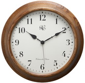 15 Inch Wood Wall Clock with Four Different Chiming Options - NVC6593