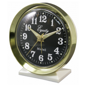 Aqua Pear Buxton Analog Wind-Up Bell Alarm Clock by LCT - PLR6450