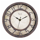 Aqua Pear Bridlington 8in Patina Wall Clock by LCT - PLR6474