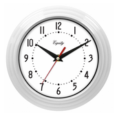 Aqua Pear Chelmsford 8in White Wall Clock by LCT - PLR6488
