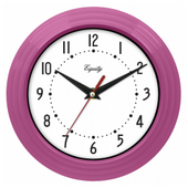 Aqua Pear Chatham 8in Pink Wall Clock by LCT - PLR6494
