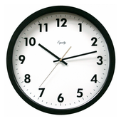 Aqua Pear Bovey 14in Commercial Wall Clock by LCT - PLR6506