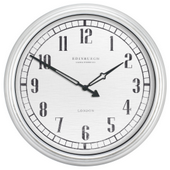 Aqua Pear Bishop 16in In/Outdoor Wall Clock by LCT - PLR6518