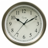 Bruton 8in Metal Wall Clock - PLR6520