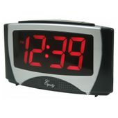 Aqua Pear Bromborough Large LED Alarm Clock by LCT - PLR6526