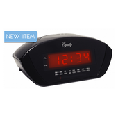 PLR AM/FM Alarm Clock Radio - PLR6528