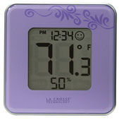 Wilton Indoor Comfort Level Station Wall & Desck Clock - PLR6396