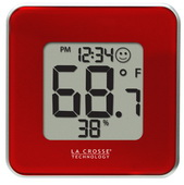 Wendover Indoor Comfort Level Station Wall & Desck Clock - PLR6346