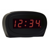 Aqua Pear Calne LED Alarm Clock by LCT - PLR6538