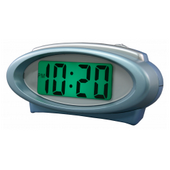 Aqua Pear Bromsgrove Digital Alarm Clock with Night Vision Technology by LCT - PLR6544