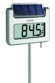 Abingdon Solar-Powered Garden Thermometer - PLR6400