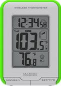 Romsey Wireless Thermometer With Clock - PLR6402