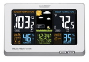PLR Wireless Color Weather Station - PLR6554