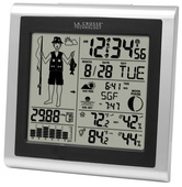 Aqua Pear Attleborough Fisherman Weather Station Forecast & Outdoor Temperature by LCT - PLR6560