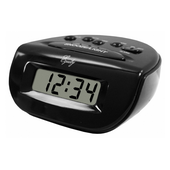 Aqua Pear Carnforth Digital Alarm Clock by LCT - PLR6574