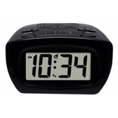 Aqua Pear Buckingham Super-Loud Digital Alarm Clock by LCT - PLR6576