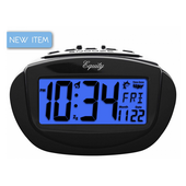 Aqua Pear Caistor Insta-Set Digital Alarm Clock by LCT - PLR6578