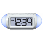 Aqua Pear Banbury Mood Light Alarm Clock by LCT - PLR6580