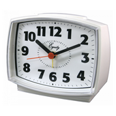 Aqua Pear Westbury Electric Analog Alarm Clock by LCT - PLR6448