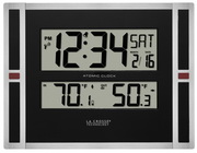 Aqua Pear Castleford Digital Atomic Wall Desk Clock by LCT - PLR6374