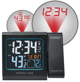 Aqua Pear Ashby Atomic Projection Alarm Clock with IN/OUT Temperature & USB by LCT  - PLR6604