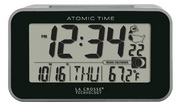 Aqua Pear Blackrod Atomic Alarm Clock by LCT - PLR6608