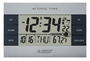 Aqua Pear Bognor Atomic Alarm Clock by LCT - PLR6610
