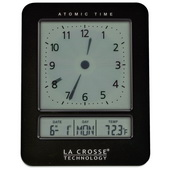 Aqua Pear Birkenhead Atomic Digital Analog-Style Alarm Clock by LCT - PLR6612